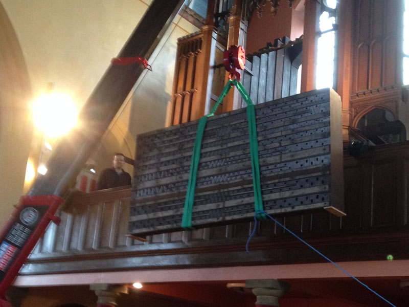 church organ maintenance and repair