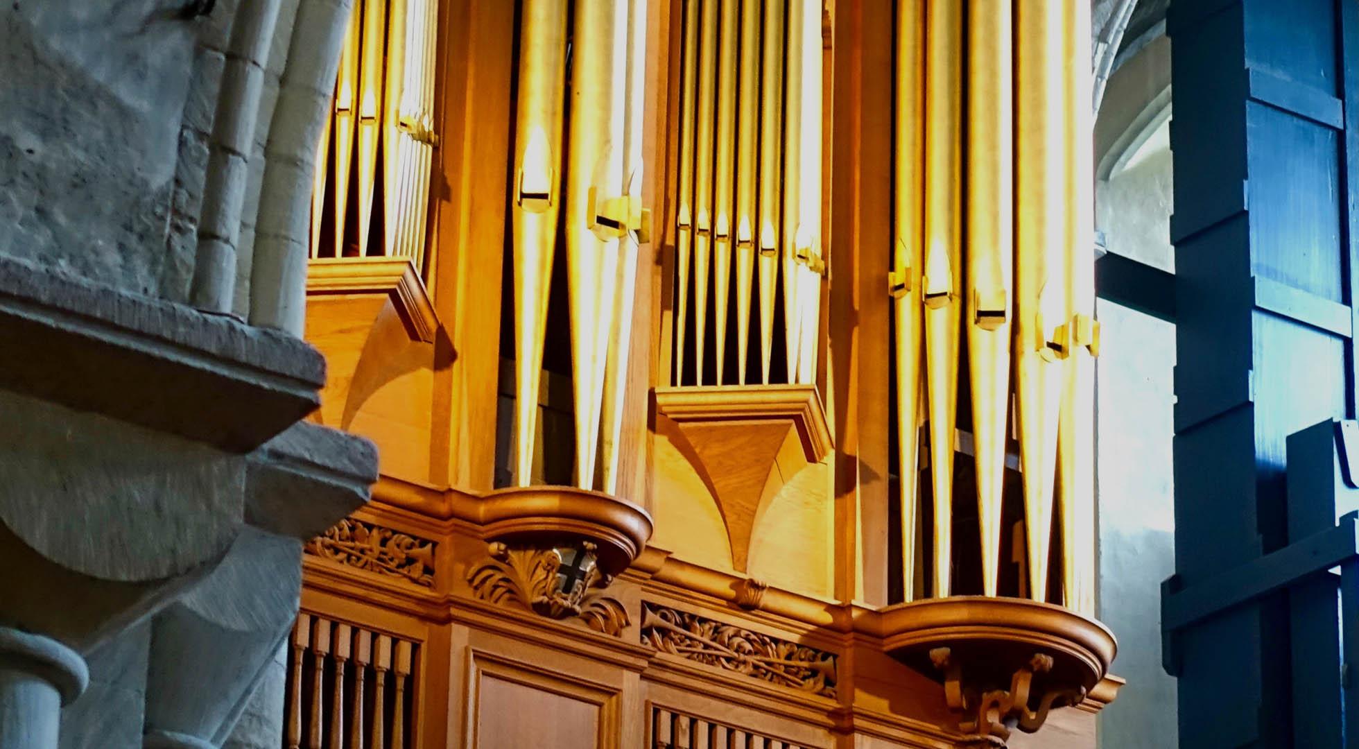 The name to trust in pipe organ repair