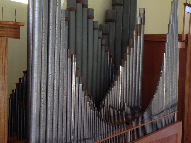 church organ tuning