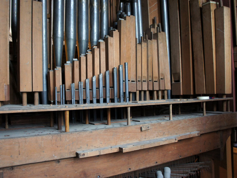 pipe organ tuning and maintenance