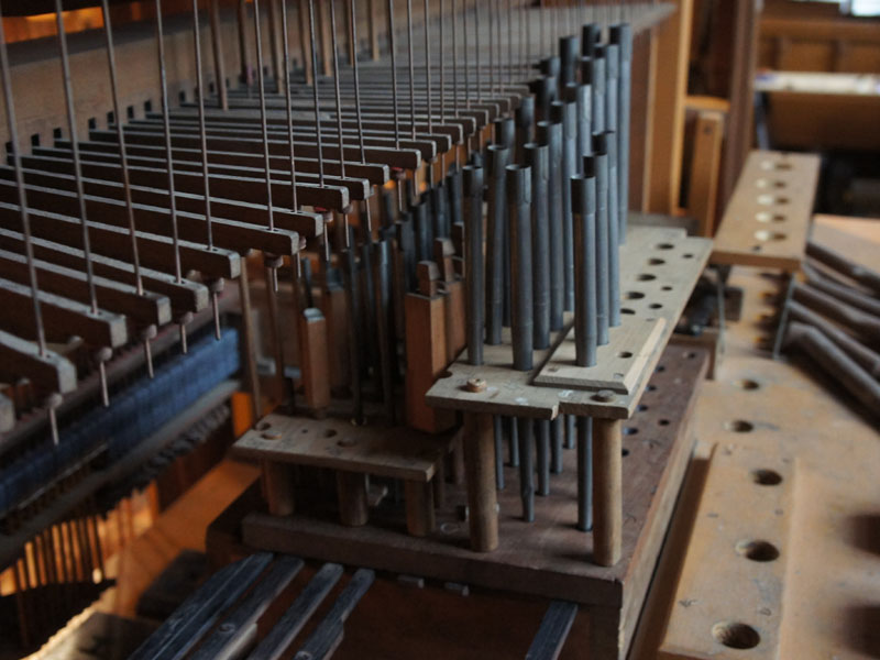 pipe church organ repair